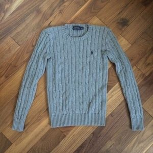 Polo Ralph Lauren Cable Knit Sweater Shirt